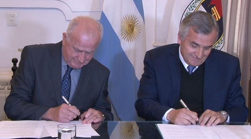 Gobierno de Jujuy y Knop Laboratorios firman acuerdo para desarrollo de cannabis medicinal