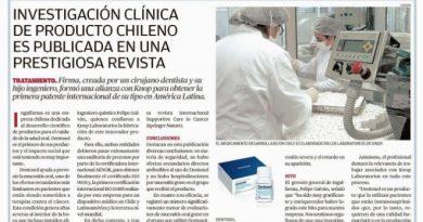 El Mercurio de Valparaíso destacó los logros de Dentoxol®