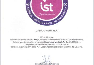 Video: Certificación Sello Covid-19 de IST
